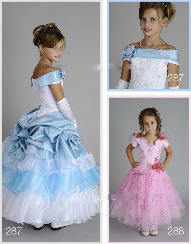 Восхитительное бальное платье для